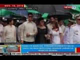 Pamilya Marcos, pinagkokomento ng SC ukol sa mga mosyong inihain laban sa Marcos burial