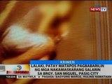 Lalaki, patay matapos pagbabarilin ng mga nakamaskarang salarin sa Brgy. San Miguel, Pasig city