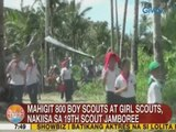 UB: Mahigit 800 boy scouts at girl scouts, nakiisa sa 19th Scout Jamboree