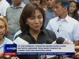 VP Leni Robredo, nagbitiw bilang HUDCC Chair matapos sabihang 'wag nang dumalo sa cabinet meeting
