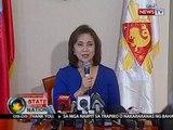 VP Robredo, nagbitiw bilang HUDCC Chair matapos abisuhang 'wag nang dumalo sa cabinet meetings