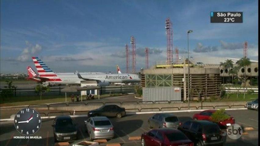 DF: Avião faz pouso forçado após briga de casal a bordo