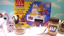 The Secret Life of Pets Make McDonalds Happy Meal Magic Cookies! DIY Cookie Maker
