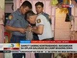 Samu't saring kontrabando, nasamsam sa Oplan Galugad sa Camp Bagong Diwa