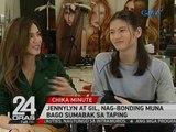 """24 Oras: Jennylyn Mercado at Gil Cuerva, nag- taping na para sa """"My Love From The Star"""""""
