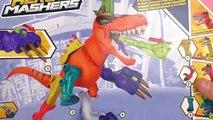 HERO MASHERS JURASSIC WORLD Deutsch Tyrannosaurus Rex selber machen! Unboxing & Demo