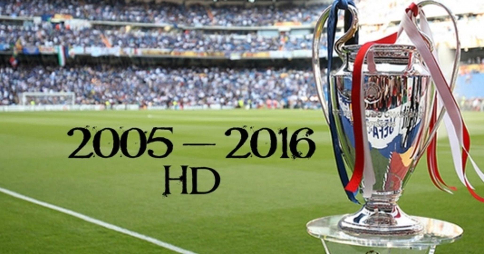 Final Champions League 2005 - 2016 | [Công Tánh Football]