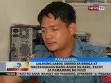 Lalaking sabog umano sa droga at nagtangkang mang-agaw ng baril, patay sa pamamaril ng pulis
