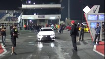 EKanooRacing's Lexus RCF Runs 4.1 @ 319KM H (198 MPH ) AT 1 8 MILE