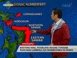 Bagyong Nina, posibleng maging typhoon bago mag-landfall sa Catanduanes sa Pasko