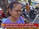 UB: Mas maraming Pinoy, nagsabing magiging masaya ang kanilang Pasko