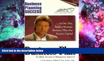 PDF [FREE] DOWNLOAD  Business Planning Success: The Professional Business Planning Handbook (One