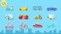 Transports - Funny Learning Games for Children - Transports Android / IOS