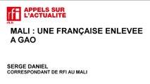 Mali : une humanitaire française enlevée