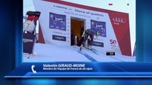 D!CI TV : La satisfaction de Valentin Giraud-Moine après le combiné alpin à Santa Caterina