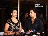 Akshay Kumar And Sonakshi Sinha At 'Rowdy Rathore' Success Bash