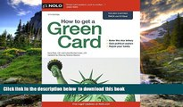 FREE [DOWNLOAD] How to Get a Green Card Ilona Bray BOOK ONLINE