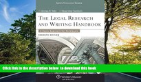 READ book  Legal Research and Writing Handbook: A Basic Approach for Paralegals (Aspen College)