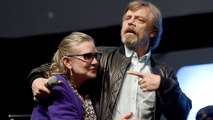 Carrie Fisher's 'Star Wars' Co-Star Mark Hamill Visits Makeshift Star on the Hollywood Walk of Fame