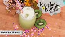 Limonada de Kiwi (Kiwi Lemonade) - Receitas de Minuto EXPRESS #135-7PExyQTlfAg
