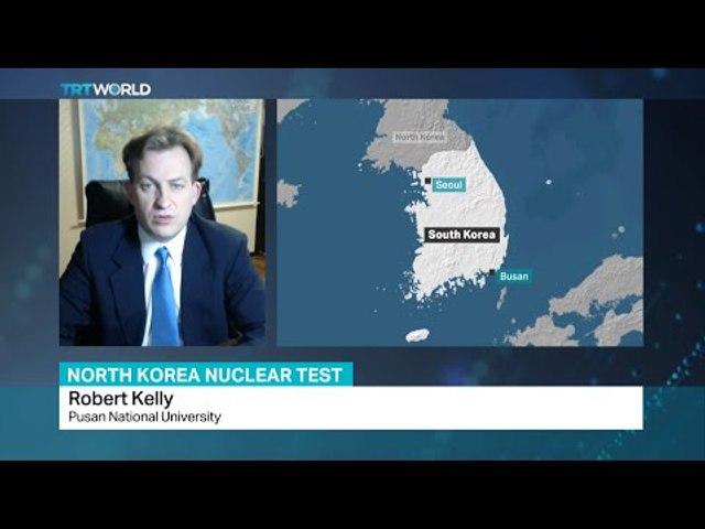 Professor Robert Kelly talks to TRTWorld on North Korea nuclear test