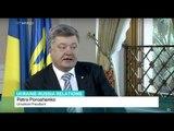TRT World's Imran Garda met Ukrainian President Petro Poroshenko on exclusive interview