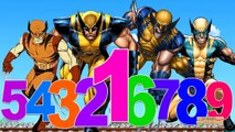 Wolverine Cartoon 123 Song For Children | Learning 123 Songs For Kids | 123 Numbers Nursery Rhymes