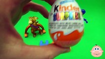Kinder Surprise Egg Learn A Word! Lesson H Teaching Spelling & Letters Unwrapping Eggs & Toys
