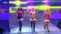 Melina, Kelly Kelly and Gail Kim vs Maryse, Alicia Fox and Jillian Hall