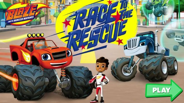 Blaze Games Race To The Rescue - Blaze And Monster Machines