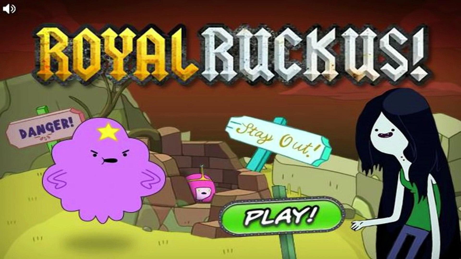 Adventure Time Royal Ruckus - Adventure Time Games