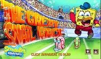 New Nickelodeon - SpongeBob SquarePants: The Great Snail Race [Bikini Bottom Racing Nick Game]