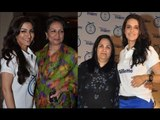 Soha Ali Khan And Neha Dhupia With Their Mothers At P&G 'Thank You Mom' Event
