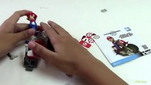 Super Mario Bros - Mario Kart Wii K'nex Mario and Standard Bike Buil