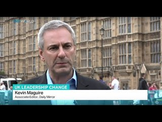 Interview with Daily Mirror Associate Editor Kevin Maguire on UK leadership change