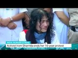 India Hunger Strike: Activist Irom Sharmila ends her 16-year protest, Jon Brain reports