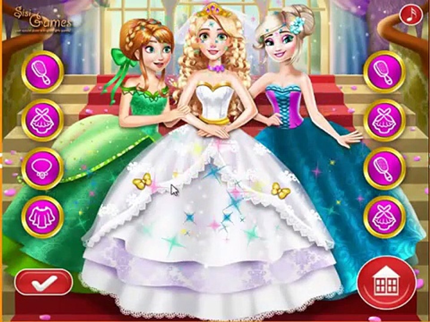 Rapunzel wedding princess game , nice game play for kids , best game for kids , fun game for child