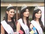 Prachi , Vanya and Rochelle at the Pantaloons Femina Miss India 2012 Press Conference