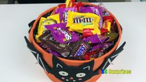 Learn to Count with Candy Skittles M&M Snickers Butterfinger Shopkins Egg Surprise Toys learn col