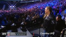 Ronda Rousey weighs in ahead of her much-hyped UFC return