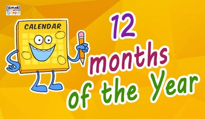 Months of the Year Song | 12 Months of the Year | Kids Songs by Catrack Kids