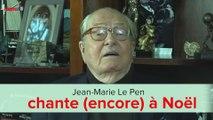 Quand Jean-Marie Le Pen chante (encore) à Noël