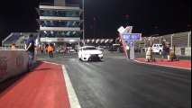 EKanooRacing's Lexus RCF Twin Turbo Runs 4.16@321KM H (199.9MPH)