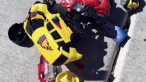 CRUSHING Toys MOANA Maui Plush Doll CRUSHES Toy Trucks Under Car Adventure - Disney Oceania Vaiana