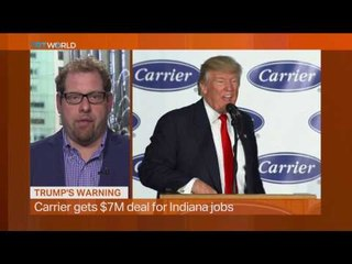 Money Talks: Trump celebrates keeping jobs in US