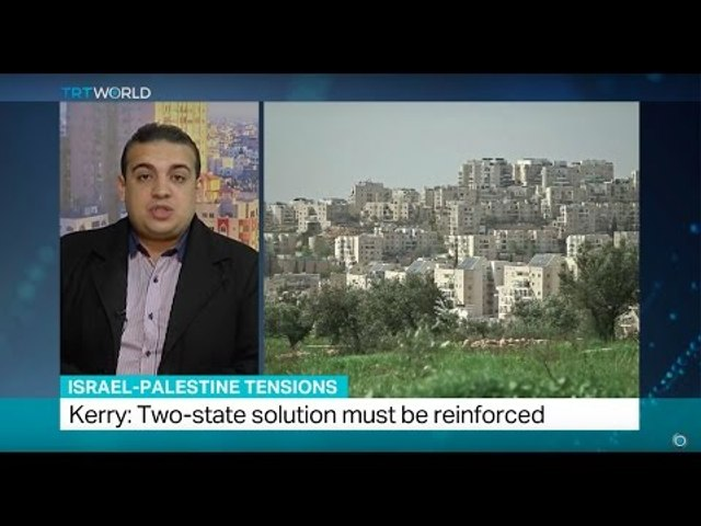 Israel-Palestine Tensions: Kerry says two-state solution only way for peace