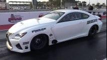 EKanooRacing's Super Street V8 Lexus RCF Runs New Personal Best of 4.106@317KM H