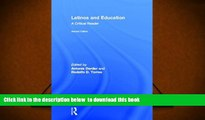 PDF  Latinos and Education: A Critical Reader  For Ipad