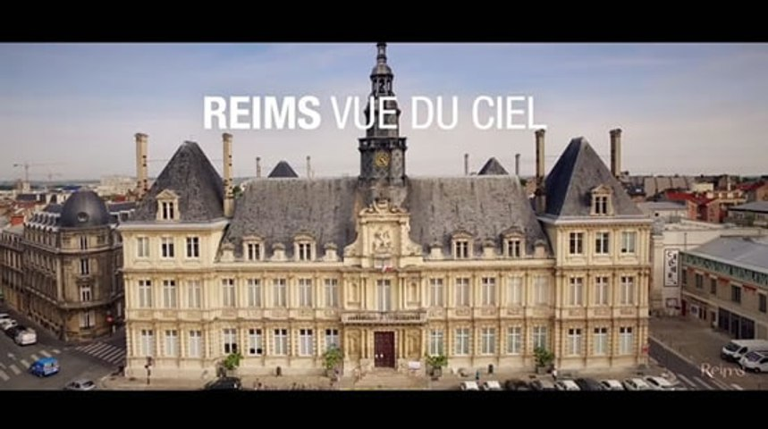 Reims vue du ciel !