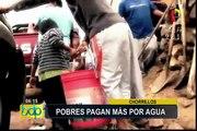 Chorrillos: familias de escasos recursos sufren por falta de agua potable